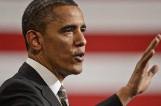 US President Barack Obama visits Chicago, Illinois, USA
